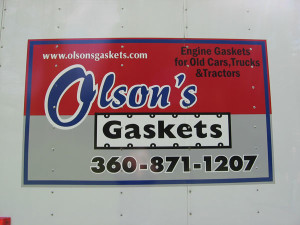 Call Olson's Gaskets: 360-871-1207