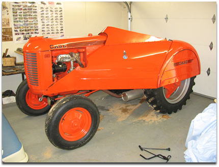 Case VAO Orchard Tractor
