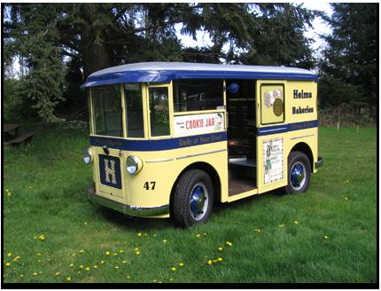 1931 Twin Coach Bakery Van - Olson's Gaskets