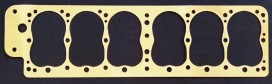 Packard 6 1925-28 Model 226, 236, 426, 526, 533 Copper Head Gasket, Victor V592, McCord 5144, 5201, Fitz 390A, Packard 144175