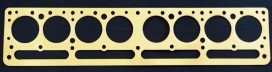 Buick Straight 8 1931-35 Series 50 Copper Head Gasket, Victor V824, McCord 5624A, Fitz 1064