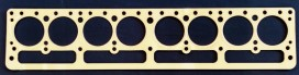 Buick Straight 8 1931-35 Series 60 Copper Head Gasket, Victor V830, McCord 5595A, Fitz 1065