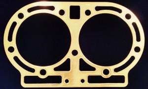 John Deere D Copper Head Gasket 1925-53, D1787R, 7.025 inch bore, AD2674R, AD2675R, Victor 503, D282R, Fitz 447, Felpro 7342S