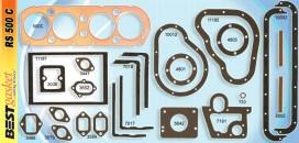Chevrolet, Chevy 4 cylinder 1916-28 gasket kit, Master, 490, FS602, Fitz 805, #346807