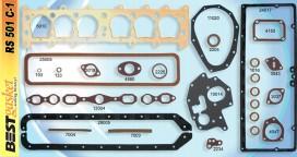 Chevrolet, Chevy 6 Master 1933 Gasket Set, FS760Y, McCord 5644, Fitz 923, 363825