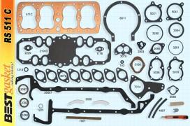 Ford V8 59A 1945-48 Gasket Set, V1026, 59A-6051, Fitz 0250
