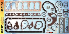 Pontiac 6 cylinder 1935-54, Victor V998, V1064, Felpro 7578, McCord 6133, 6272, GM# 505679, 505212, Fitz 0497