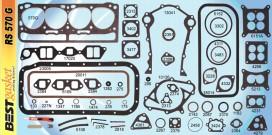Victor FS1080/30941/3092, Best RS570G, FelPro FS7626PT4
