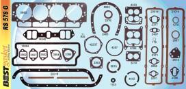 Victor FS1160, Best RS578G, Felpro FS7893PT4