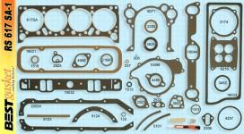 Victor FS1165/1181, Best RS617SA1, FelPro FS8518PT4