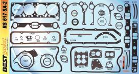 Victor FS1165/1181/3493/3375, Best RS617SA2, FelPro FS8518PT3