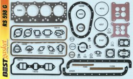 Victor 1100, Studebaker # 535982, Felpro 7669S