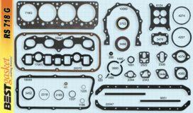 Best RS718G, Victor 1102, Mopar 1637372, Felpro 7746