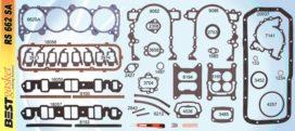 Victor FS3364, Best RS662, Felpro FS8172PT2