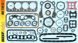 Victor FS1108/1121/1130, RS734, Felpro FS7672S/7689S/7736PT